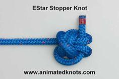 Animation: EStar Stopper Knot Tying (Boating)
