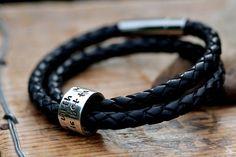 bracelet men leather - Buscar con Google