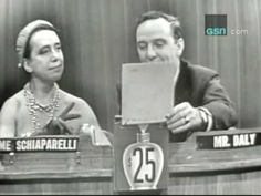 """Elsa Schiaparelli on """"What's My Line? One for the fashionable folks"""