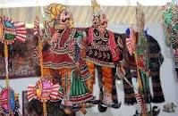 andhra leather puppets - Google Search