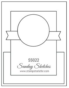 Sunday Sketches SS022 by Stamps to Die For