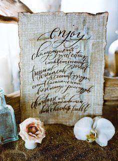 Branded Inspiration Shoot | Burnett's Boards - Wedding Inspiration