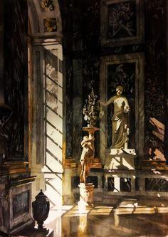 Paul Dmoch Brin de soleil dans la Galerie des Glaces