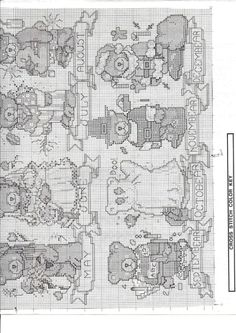 Gallery.ru / Фото #44 - Design Works - tastr Cross Stitch For Kids, Cross Stitch Animals, Cross Stitch Charts, Cross Stitch Designs, Cross Stitch Patterns, Tedy Bear, 3d Cards, Crochet Bear, Stitch 2