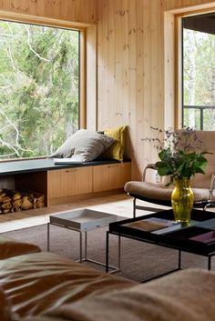 Casa nel bosco - Living