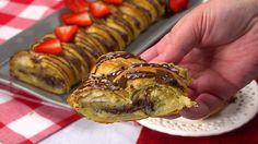 Chocolate Almond Cheese Danish Recipe - YUMMY!