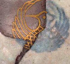Kintsugi / Kintsukuroi, traditional wabi-sabi Japanese ceramic art repair using gold and lacquer as an alternative to masking broken ceramic and pottery Japanese Ceramics, Japanese Pottery, Japanese Art, Kintsugi, Make Do And Mend, Heart Art, Colour Schemes, Wabi Sabi, Glass Design