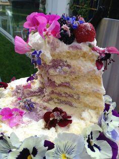 Naked Cake Flower essbare Blüten