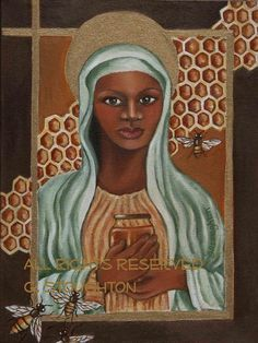 Black Madonna from the Secret Life of Bees