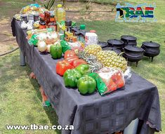 Alexander Forbes Potjiekos Cooking team building event in Sandton, facilitated and coordinated by TBAE Team Building and Events Team Building Events, Table Decorations, Vegetables, Cooking, Kitchen, Vegetable Recipes, Brewing, Cuisine, Dinner Table Decorations