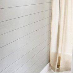 Wood Plank Wall Tutorial {Wood Paneling}