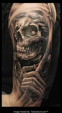 100 Awesome Skull Tattoo Designs