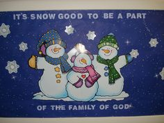 christian january bulletin board ideas | January children's board | Bulletin Board Ideas