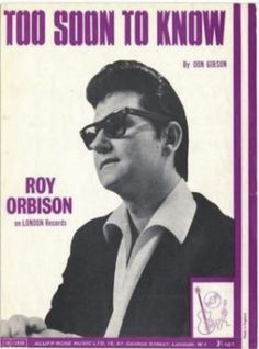 1966-Roy Orbison-sheet music