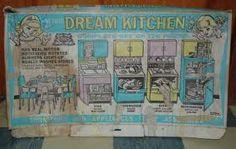 1950s Deluxe Reading Dream Kitchen in Box