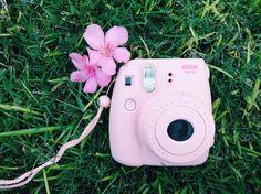 Pink Polaroid Instax Mini 8, Fujifilm Instax Mini, Polaroid Camera, My Photos, Pink, Polaroid, Polaroid Cameras, Pink Hair, Instant Camera