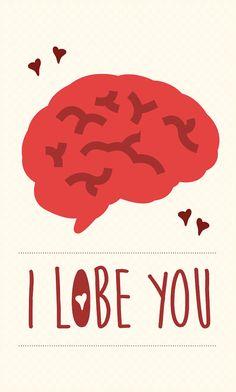 Funny Medical Valentine's Day Card Download I by novelledesigns