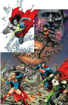 The Krypton Returns Covers That Seem To Link Together