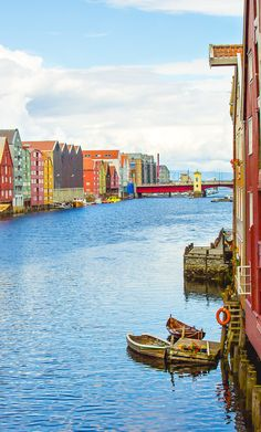 70 Countries Later, I Choose Norway // photo Trondheim, Norway ….Stay cheap and comfortable on your stopover in Oslo: www.airbnb.com/rooms/1036219?guests=2&s=ja99 and https://www.airbnb.com/rooms/6808361