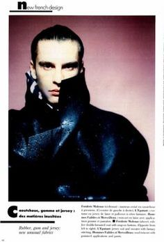 Vogue Hommes International Fall/Winter 1988/89