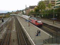 Thalwil, Switzerland - Our home for three years