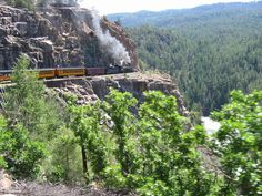 Silverton Durango Train, Colorado. I did this train ride when I was young and would love to do it again.