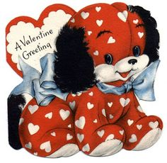 Image detail for -Very Merry Vintage Syle: Vintage Valentine Card Images & Decor {Link ...