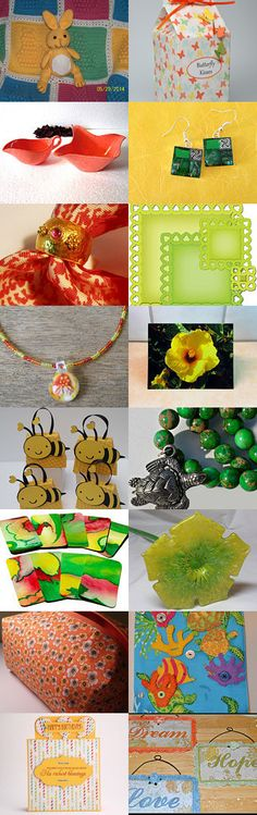 Colorful Explosion from the FRU Team by Wirednstrung on Etsy--Pinned with TreasuryPin.com