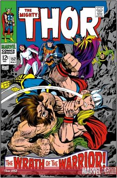 Thor (May cover by Jack Kirby & Vince Colletta. Marvel Comics Superheroes, Marvel Comic Books, Comic Book Heroes, Comic Books Art, Comic Art, Thor Marvel, Avengers, Marvel Characters, Dc Comics