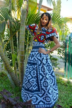 Set in Samacá, Angolan traditional fabric. #LisetePote design