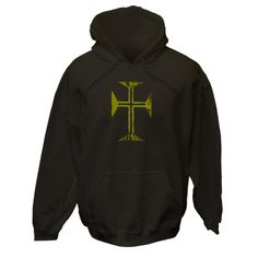 Distressed look to a golden colored Byzantine cross of the Orthodox Christian faith. $75.99 ink.100crosses.com