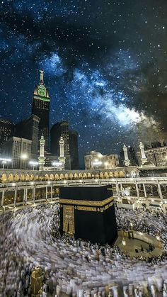Masjid al-Haram, Mecca/Makkah. The holiest mosque in Islam. Masjid Al Haram, Mecca Masjid, Mekkah, Les Religions, Beautiful Mosques, Islamic Architecture, Islamic Pictures, Beautiful Places In The World, Place Of Worship