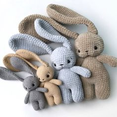 PDF Pattern Crochet Toy Cute Bunny Long Ears in Santa hat Christmas Amigurumi Pattern Crochet Toys Bunny & Co by CrochetToysBunnyCo on Etsy Crochet Rabbit, Cute Crochet, Crochet Crafts, Crochet Projects, Knit Crochet, Crochet Teddy, Crochet Baby Toys, Beautiful Crochet, Crochet Ideas