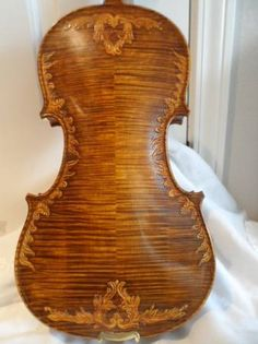 royal engraved strad model violin
