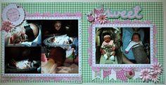 "Random Memories: double layout ""Sweet"" by Julie Leonhardt"