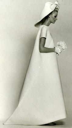 Balenciaga - Vintage - Robe de Mariée 'Trapèze' - 1967