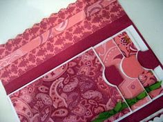 This a scrapbook album made with envelopes. Regular legal size envelopes are used to hold photos and journaling. Finished size of this proje...