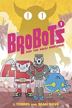 Primary. BroBots by J. Torres (June 2016). A really engaging graphic novel for beginning readers.
