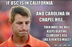 Carolina Gamecocks do.. That's who!