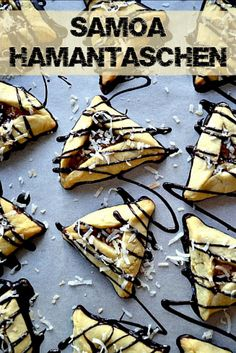Girl Scout Samoa Hamantaschen. Girl Scout Cookie season doesn't have to with these Purim treats