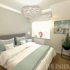 mała sypialnia, miętowa sypialnia Bed, Furniture, Home Decor, Decoration Home, Stream Bed, Room Decor, Home Furnishings, Beds, Home Interior Design