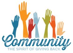 Looking for new ways to help your business? Different ways? Try giving back to the community. Be a leader in the effort you provide. Community Space, Community Service, Fundraising Sites, Show Of Hands, Church Ministry, Creativity And Innovation, Free Website, Website Ideas, Home Logo