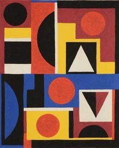 Auguste Herbin gouache    Grogan and Company Fine Art Auctioneers and Appraisers is pleased to announce their upcoming December 2nd Fine Art and Antiques auction will feature a variety of works of art from Old Masters to Modern and Contemporary.