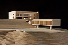 Casa em Santa Teresa | spbr arquitetos Concept Models Architecture, Architecture Model Making, School Architecture, Minimalist Architecture, Interior Architecture, Casas Containers, 3d Modelle, Arch Model, New House Plans