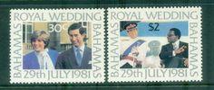 Bahamas 1981 Charles & Diana Royal Wedding MUH lot81933