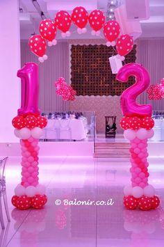 Beautiful balloon Display by Avital Shecter - Israel