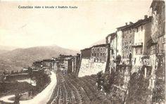Camerino, mura ed orto botanico, inizio '900.