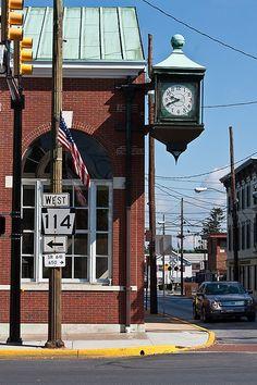 Pass this corner everyday. Downtown Mechanicsburg.