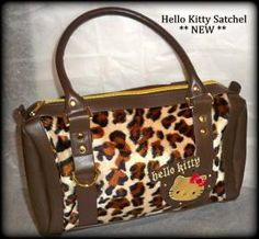 ** NEW ** Adorable Hello Kitty Satchel ** FREE Shipping ** $42.99       Check out my other authentic pretties: http://style.ly/boutique/Carla-Cash-Harris-129043         Find me on Facebook: www.facebook.com/fabfindsfurniture