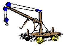 Science Project _ An Electromagnetic Crane Science Projects, Crane, Technology, Tech, Tecnologia, Science Fair Projects